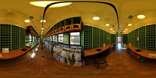 panorama train railway 360 panoramic equirectangular panosphere