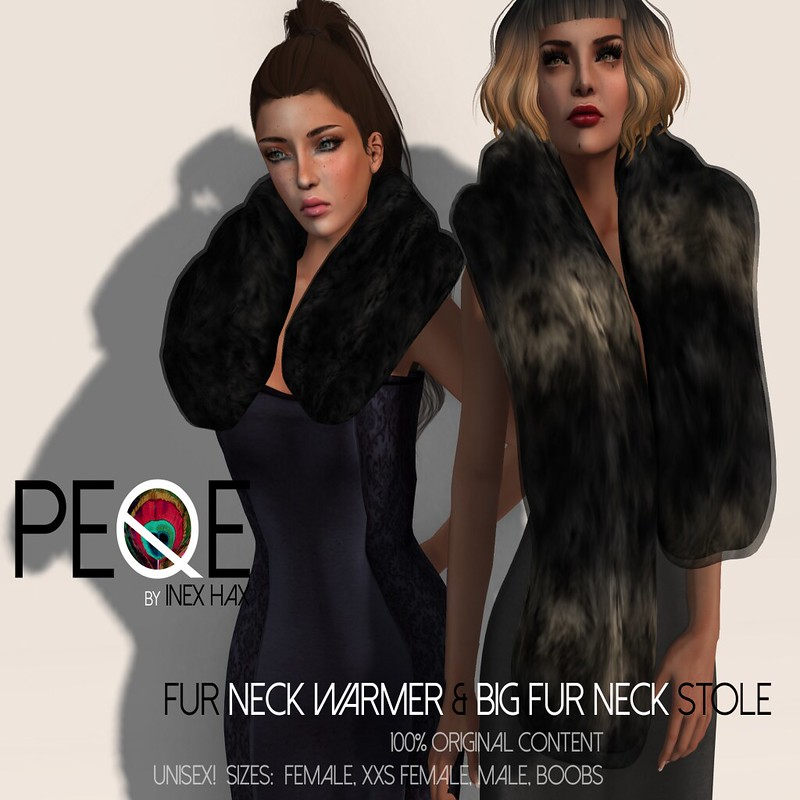 Peqe - Fur Neck warmer and Stole