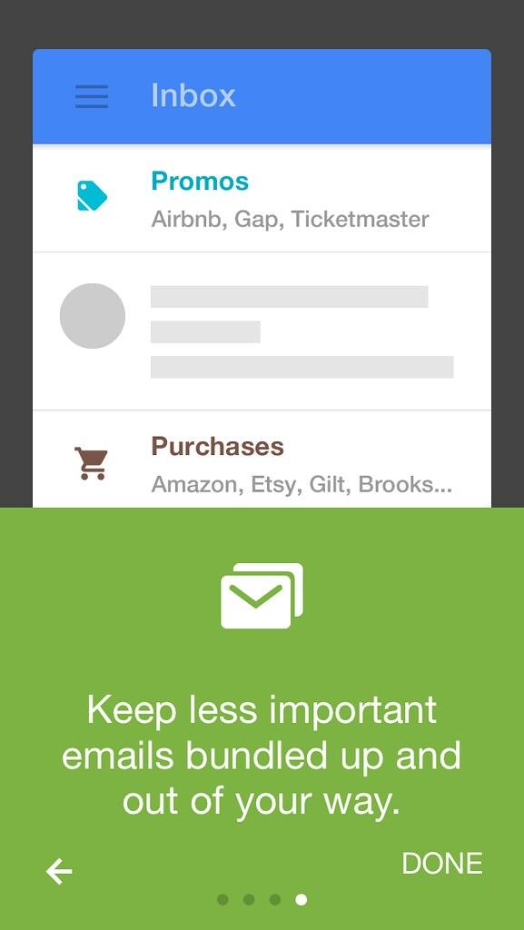 Onboarding in Google Inbox iOS app | Junya Ogura | Flickr