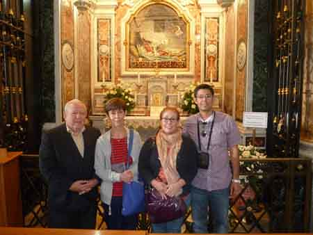 Pilgrim Visitors to the Sanctuary of Saint Philomena, September 2014 | by Saint Philomena Sanctuary