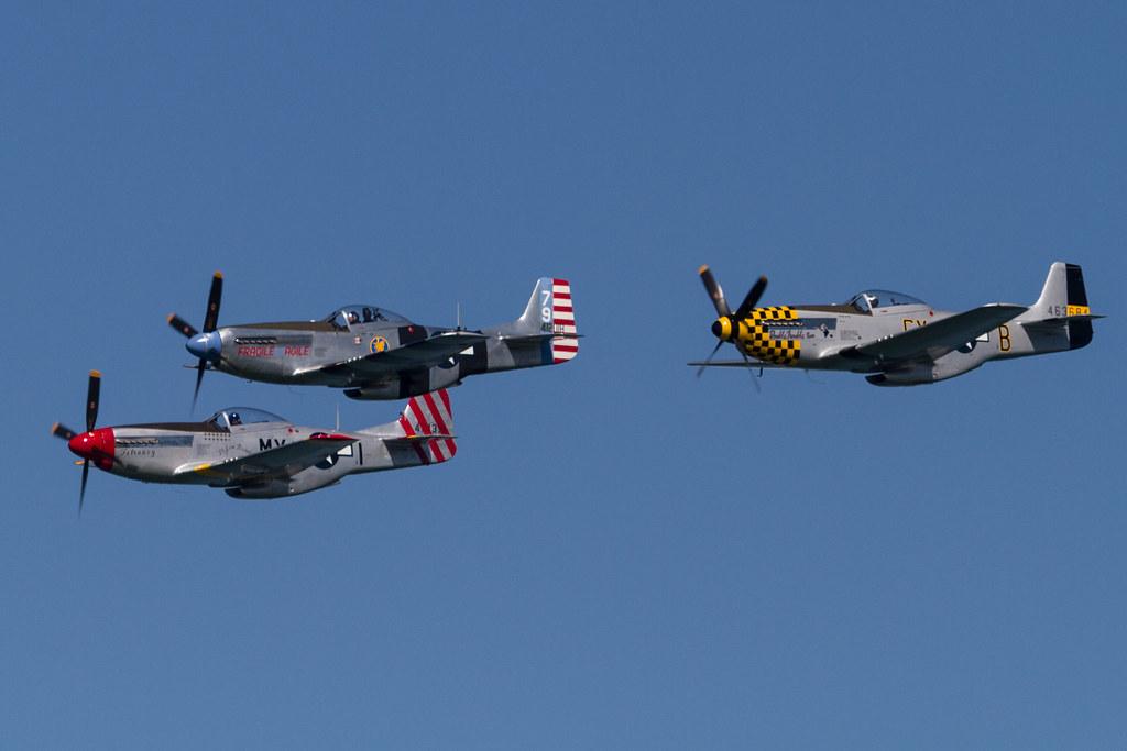 Fleet Week SF 2014: The Horsemen P-51 Team