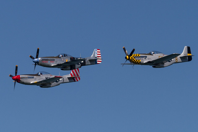 Fleet Week SF 2014: The Horsemen P-51 Team