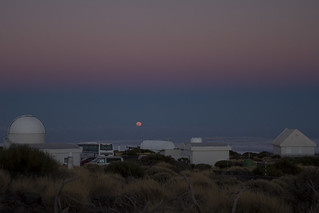 Moonrise from Teide