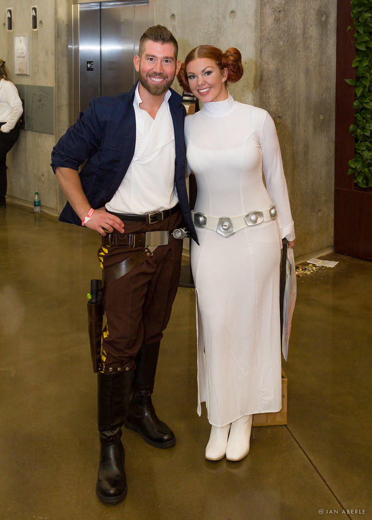 c41c2bbdbc0 Han & Leia | Taken during the Dallas Comic Con Fan Days at I… | Flickr