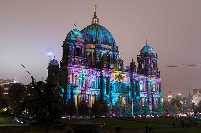 Festival Of Lights 2014 - Berlin Cathedral Pattern #7