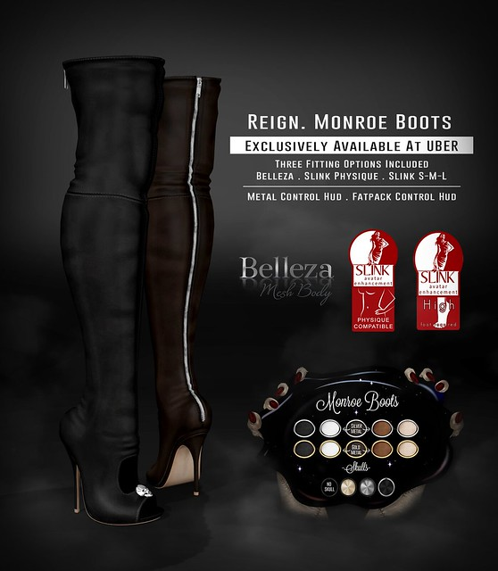 REIGN. MONROE BOOTS