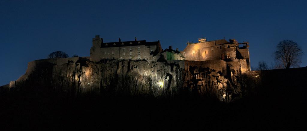 Stirling Castle At Night Jasty78 Flickr