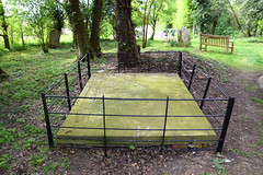 Powell grave slab