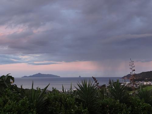 new zealand nouvellezélande sunset clouds beach