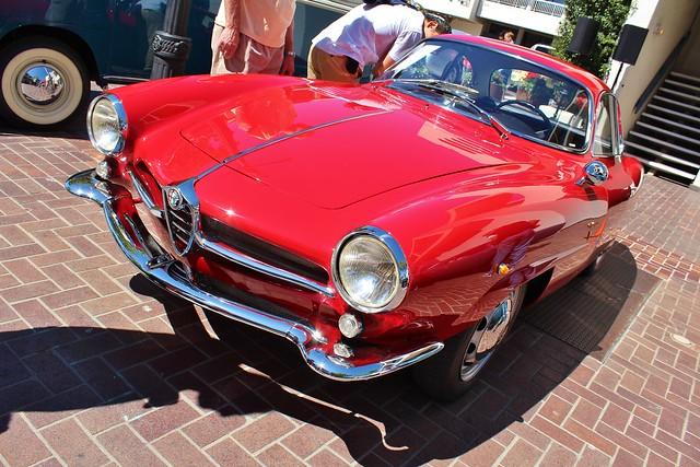 1961 Alfa Romeo Giulietta Sprint Speciale by Bertone