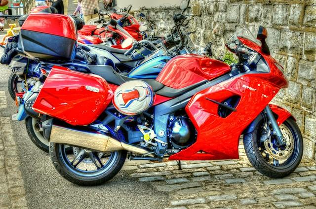 Motorbikes HDR