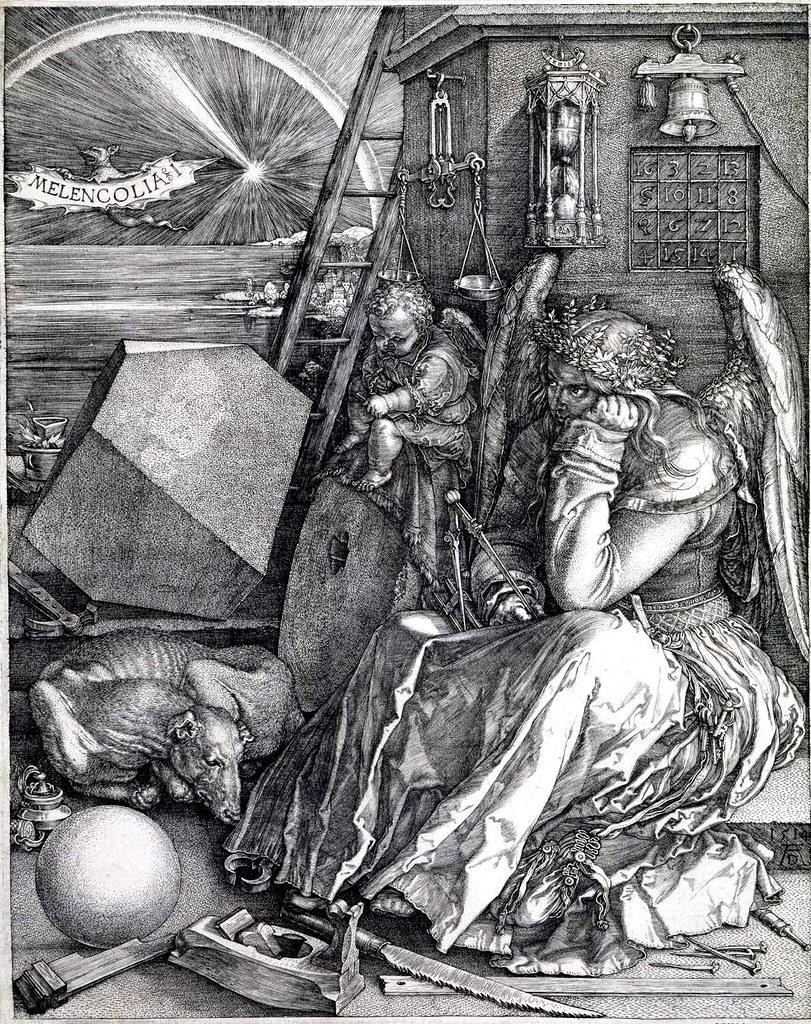 Albrecht Dürer, Melancholia. 1514.