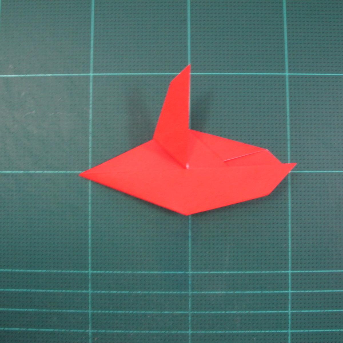 วิธีพับกระดาษเป็นรูปแมลงปอ (Origami Dragonfly) 013