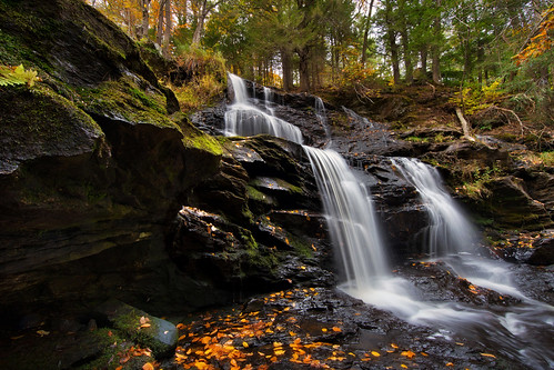 autumn waterfall newhampshire fallfoliage wilton canon6d canonef14mmf28lii garwinfalls