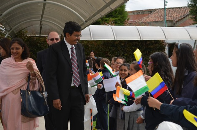 Visita del Embajador de la India