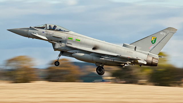 Typhoon FGR.4.  ZJ936.