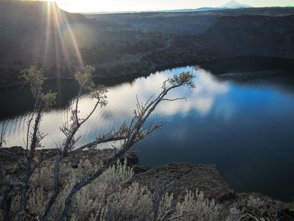 Crooked River Campground morning