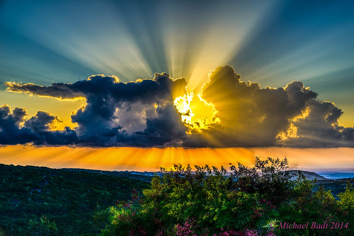 israel sunsets naturelandscape haluts northdistrict