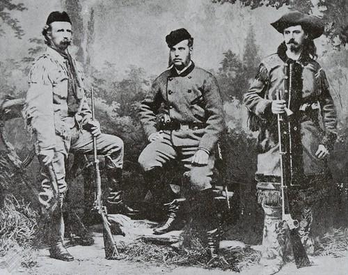 George Armstrong Custer, Grand Duke Alexis, & Buffalo Bill (1872)