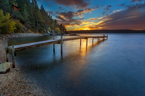 longexposure trees sunset water norway clouds landscape norge jetty scandinavia østfold waterscape sarpsborg skjeberg ef1740mm canon6d bentvelling