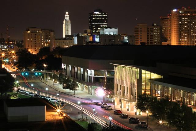 Downtown Baton Rouge Skyline