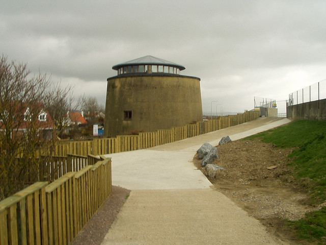 Old Martello Tower at Dymchurch