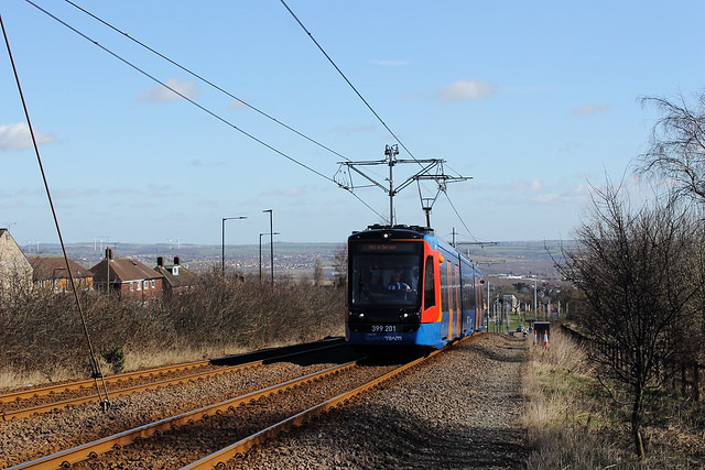 Stagecoach Supertram 399201