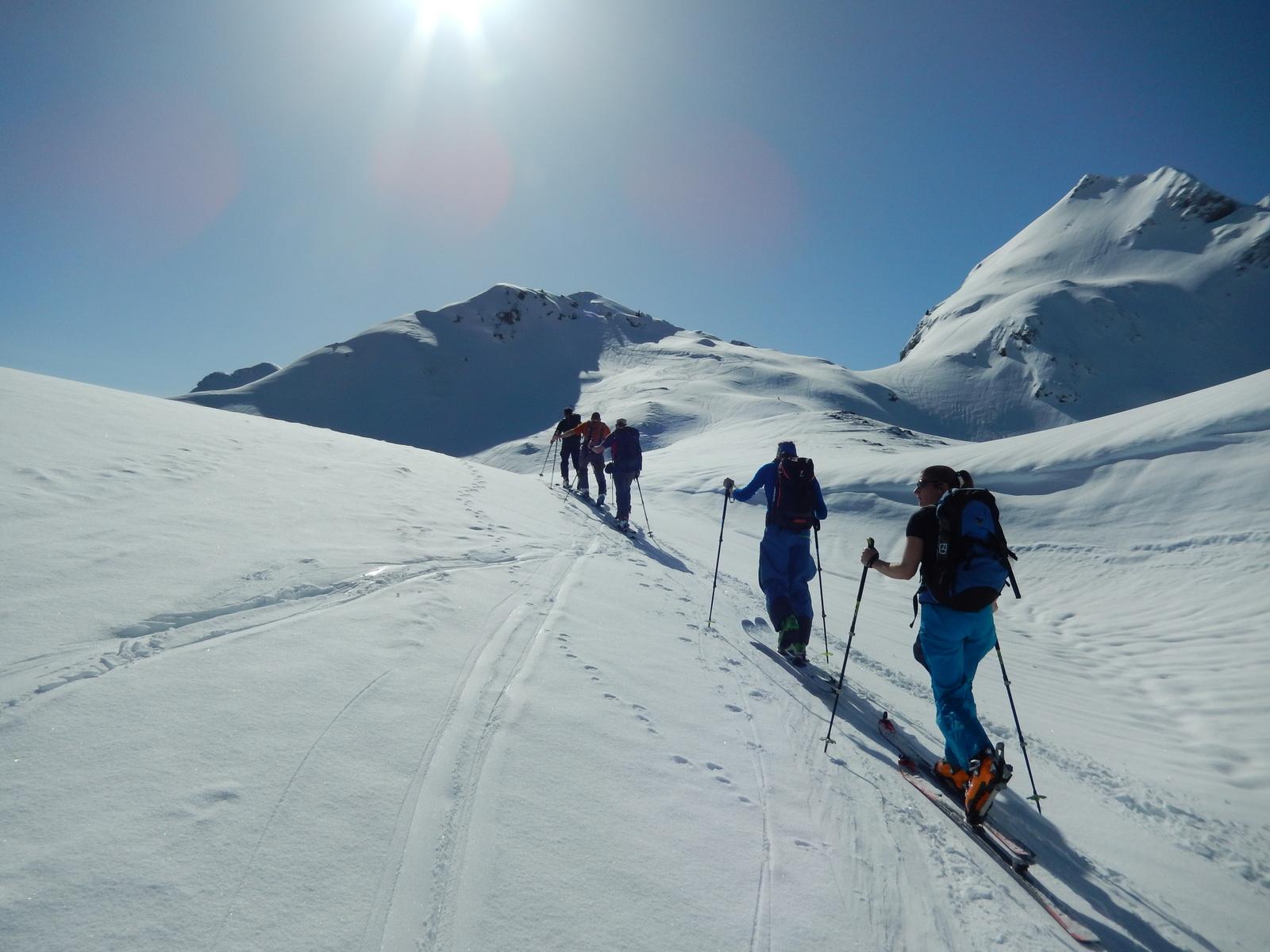 Skitour Mariannehubel 11.03.2017