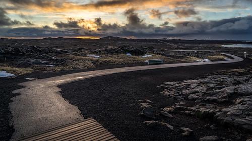 iceland sand sunrise southern travel sky sun south black peninsula sandvik landscape orange clouds southernpeninsularegion is onsale