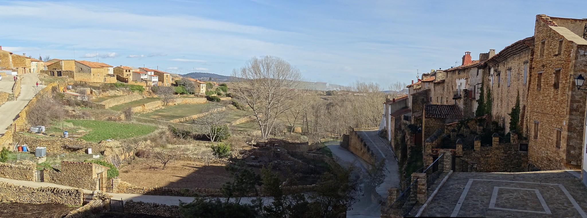 vistas La Iglesuela del Cid Calles Medievales Comarca del Maestrazgo Teruel