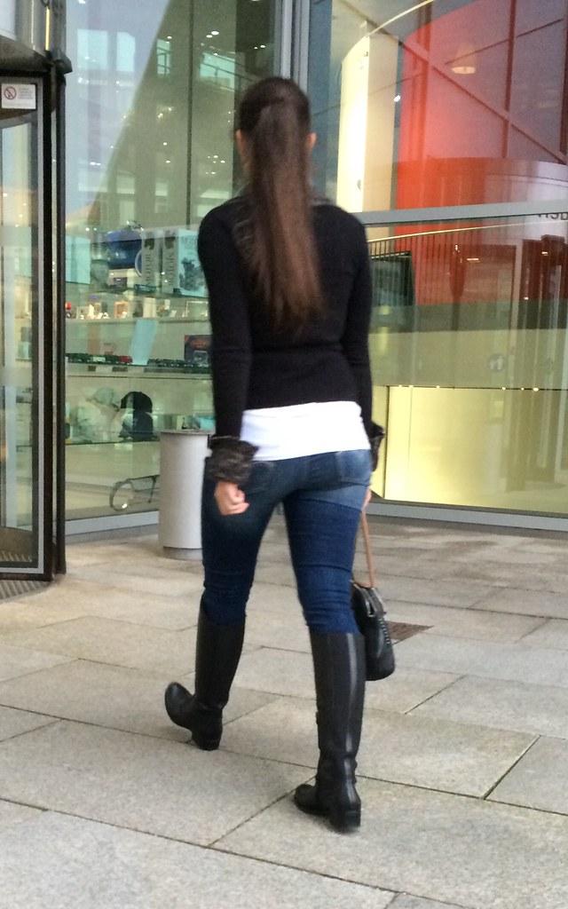 Boots Candid Street Snapshot By Iivansusanin