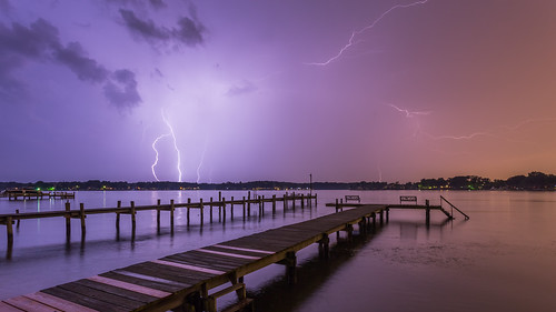 Happy Bench Lightning Monday | by Ken Krach Photography