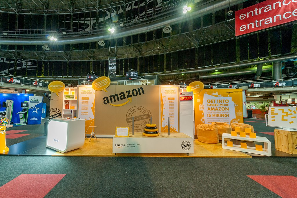 Expo Stands Cape Town : Amazon rage expo 2014 hott3d 2 small amazon booth at ragu2026 flickr