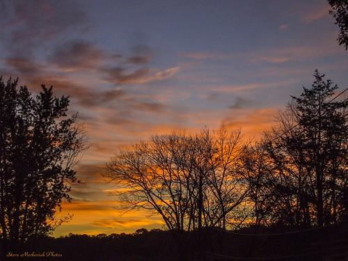autumn trees sky clouds sunrise newjersey fuji finepix fujifilm paintedsky westmilford a805 smack53