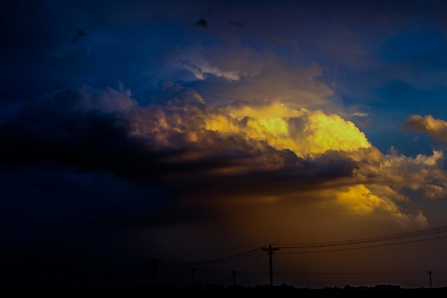 070914 - The Sunset after the Supercell