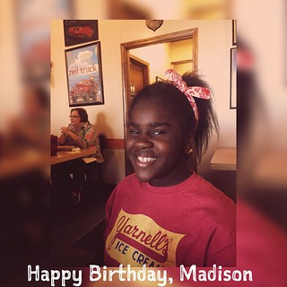 Internet, join me in wishing Madison a happy birthday. @mevalley'#HappyBirthday | by Anthony K. Valley