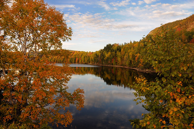 Riverside Drive in Autumn