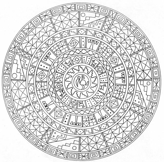 Hd Coloring Pages For Adult Mystical Mandala Coloring Book Flickr