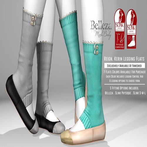 REIGN. KERIN LEGGINGS FLATS