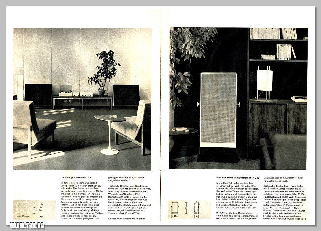 Braun 64 Speaker Units 06-07 | Cleaned scan of a '64 Braun L… | Flickr