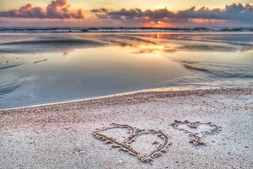 ocean morning b sky sun reflection love beach water beautiful clouds sunrise reflections sand fuji heart florida atlantic becky fl 1855 fujinon xe2 xf1855 fujixe2