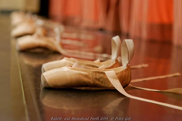Ballettschuhe, Ballet shoe 001