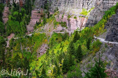 scenery colorado telluride narrow 4wheeling sanjuanmountains ouray ledgeroad imogenepassroad