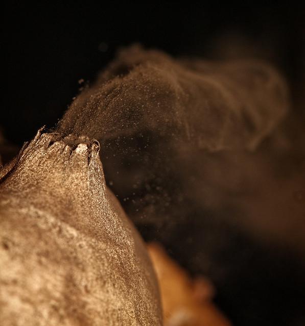 Puffball volcano