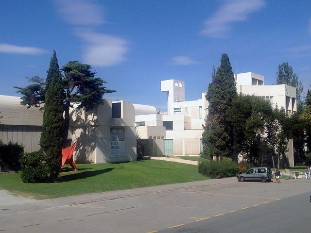 Míro museum up at Montjuíc