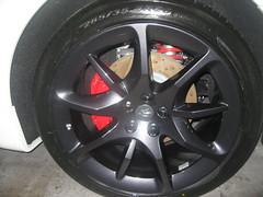 Llantas limpias. Maserati