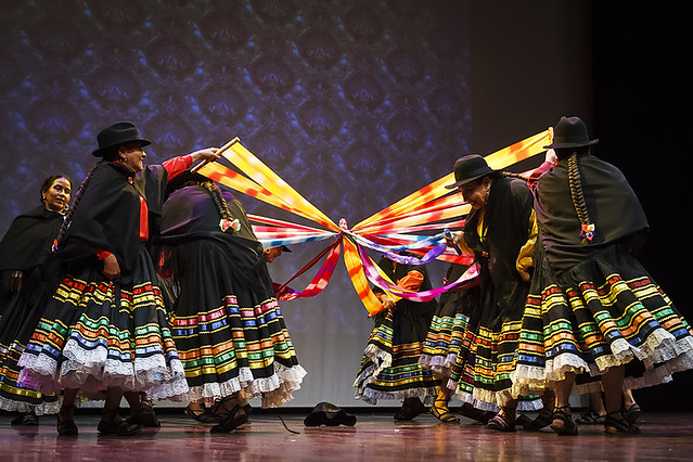 Huellas, Folcloriada Medellin 2014