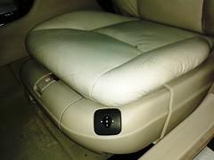 Mercedes Clase S. Limpieza Integral. Asiento Piloto. Despues