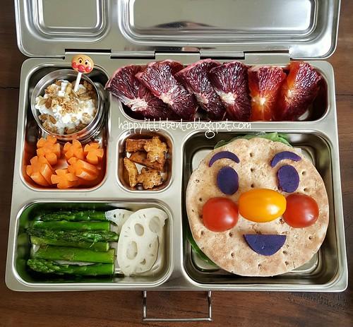 Anpanman Turkey Burger PlanetBox Bento!   by sherimiya ♥