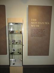 The Montezuma Myth, Visitor Center, Montezuma Castle National Monument, Camp Verde, Arizona